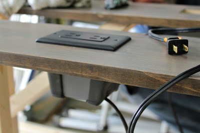 Awesome Diy Sofa Table With Electric Outlets Diy For Everybody