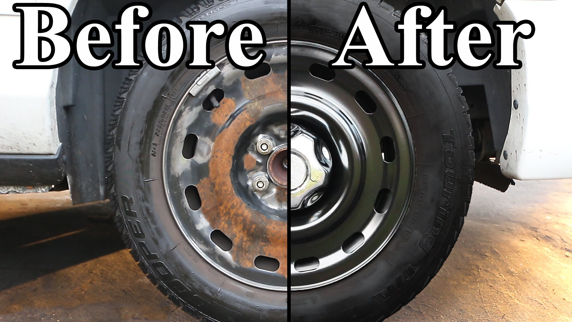 Give your car a new look paint those grundgy wheels for Fresh look painting
